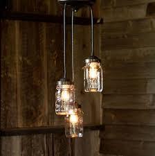 Mason Jar Pendant Light Pendant Lighting Transitional Turn Mason Jar Into Pendant Light