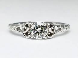 octagon celtic engagement rings from mdc diamonds nyc