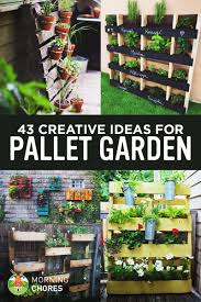 Pallet Garden Wall by 43 Gorgeous Diy Pallet Garden Ideas To Upcycle Your Wooden Pallets