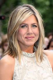 blonde hair with chunky highlights pictures chunky blonde highlights jennifer aniston blonde hair