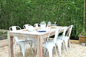 Diy Farmhouse Table And Bench Diy Farmhouse Dining Table Bench Style Outdoor Tables Plans Cost