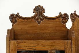 Antique Desk Secretary by Oak Side By Side 1900 Antique Combination Bookcase U0026 Secretary