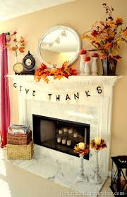 decoration thanksgiving 25 best fall fireplace decor ideas on pinterest autumn