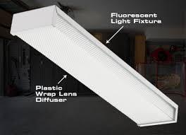 4 foot fluorescent light covers vibrant ideas fluorescent light fixture covers replacement