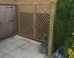 Wooden Trellis Panels Derbyshire Fencing Manufacture And Paving Supplies Fence