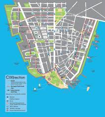 map of manhattan downtown connection downtown alliance