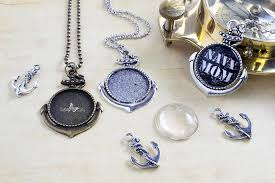 diy necklace pendant images 1 inch round diy nautical anchor kit lilly ds diy craft supplies jpg