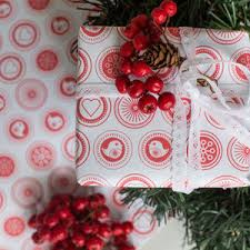 christmas wrapping paper sets white christmas wrapping paper set from russia with