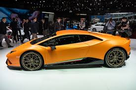 future lamborghini models lamborghini u0027s huracán performante looks like a demon in dreamsicle