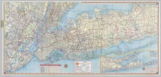 Road Map Of New York Shell Metropolitan New York And Long Island Eastern Long Island