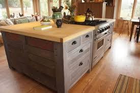 custom built kitchen islands kitchen crafted rustic kitchen island by atlas stringed