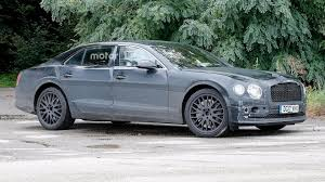 bentley 2020 2019 bentley flying spur caught testing with new w12 engine