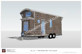 building plans houses no 30 the bohemian tiny house on wheels building plan free