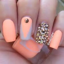 orange nails designs orange nail pinterest orange nails and