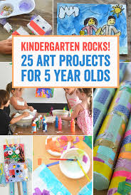 Easter Decorations For Kindergarten by Kindergarten Rocks 25 Art Projects For 5 Year Olds Meri Cherry