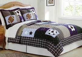 Baseball Bedroom Set Sports Bedding Twin Full Size Kids And Boys Sports Bedding