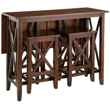 Kenzie Mahogany Brown Breakfast Table Set Pier  Imports - Pier 1 kitchen table