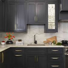 kitchen backsplash ideas black cabinets 23 marble backsplash ideas that fit any design style