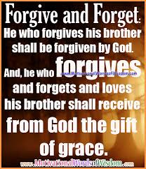 motivational words of wisdom by god s grace we are forgiven