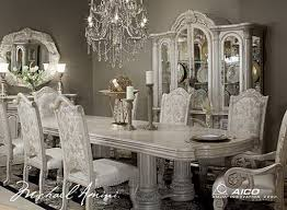 White Dining Room Furniture Sets White Dining Table And Chairs In Classic Styles Home Design White