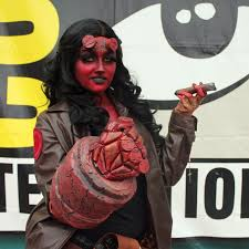 Hellboy Halloween Costume Geek Fashion Popsugar Celebrity Australia