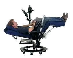 reclining desk chair epic reclining office desk chair home