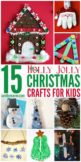 make these holly jolly christmas crafts for kids i am the maven