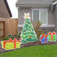 christmas yard art christmas decoration yard art by samthecrafter