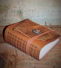 Leather Bound Photo Album Handmade Leather Bound Book Travel Diary Photo Album Guest Book