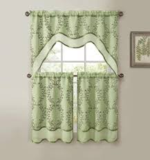 Hunter Green Kitchen Curtains by Green Kitchen Curtains Home Design Styles