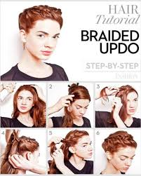 prom updo instructions waterfall braids fancy ponytails and more 5 prom hairstyle