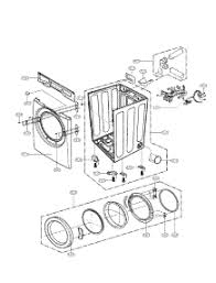 parts for lg dle2140w dryer appliancepartspros com