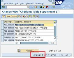 sap t code description table sap note to activate t codes for the spro