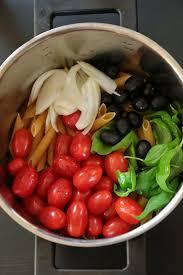 plat facile a cuisiner et rapide one pan pasta une recette simple facile et surtout