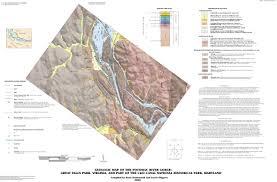 Potomac River On Map Geologic Map Great Falls Park Virginia