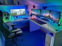 chambre gamer épinglé par pour gamer sur pc gaming bureau ordi et jeu