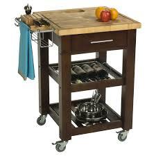 aspen butcher block kitchen cart hayneedle