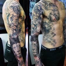 mythology tattoos design for
