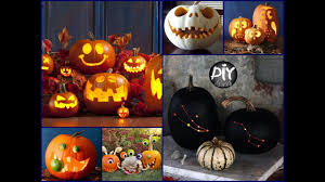 Diy Halloween Ornaments 50 Creative Pumpkin Carving Ideas Diy Halloween Decor 2017