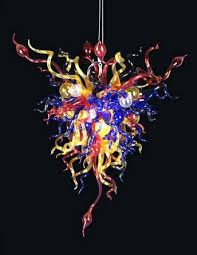Chihuly Glass Chandelier Luxury European Baroque Style Chandelier Good Price Led Saving