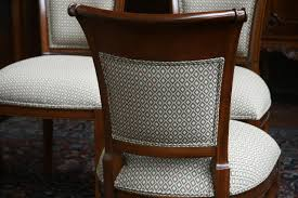 stunning upholstered dining room chairs with casters pictures