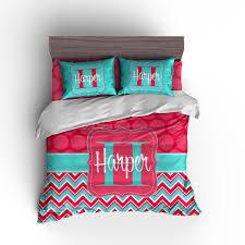 personalized duvet set personalized comforter set monogrammed