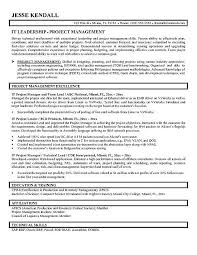 Best Team Lead Resume Example by Project Manager Resume Objectives The Best Letter Sample