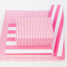 pink wrapping paper pink stripe wrapping paper
