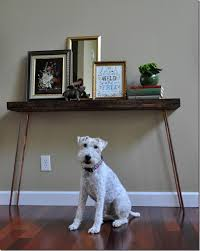Diy Console Table Diy Console Table How To U2014 Decor And The Dog