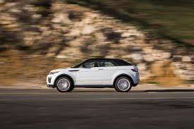 brown range rover 2017 range rover evoque convertible first test motor trend
