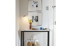 Room And Board Console Table Parsons Console Table Entryway Small Space Solutions Room Board