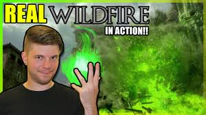 Wildfire White Walkers by Game Of Thrones Real Wildfire Burning Down The Sept With