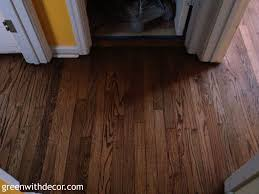 green with decor hardwood floor color reveal