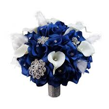 royal blue corsage colorful artificial flower wedding bouquet corsage 10 bouquet